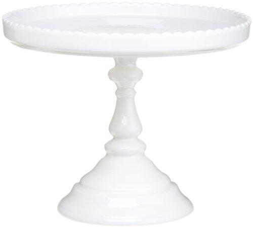 Rosanna Decor Bon Bon Footed Round Cake Stand White