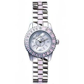 Christian Dior Women's CD112111M001 Christal Stainless-Steel Bracelet Watch