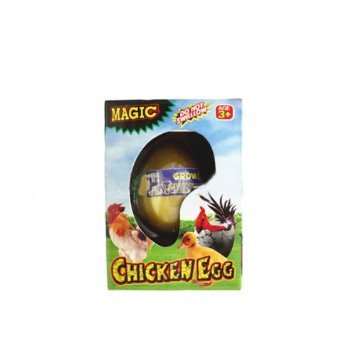 Mazaa Magic Growing Pet: Chicken Egg - Watch Them Grow (Perfect For Easter)