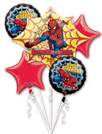 Mayflower Balloons 44229 Spiderman Bouquet