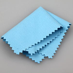 Blue Silver Polishing Cloth for Jewellery