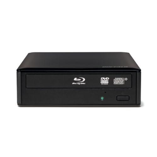 BUFFALO 3D視聴対応 USB3.0用外付けブルーレイドライブ 最大12倍速 BR3D-12U3