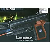 Air Sports LASER Kids Toy Air GUN With RED LASER & BLUE LIGHT Pistol. BEST DEAL!