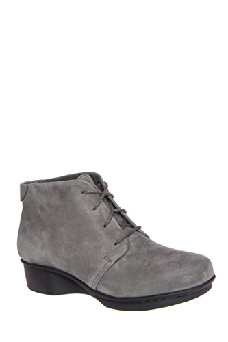 Lucille Low Wedge Bootie