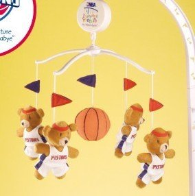 Detroit Pistons Mascot Mobile by Mascotopia