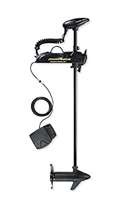Minn Kota Powerdrive V2 Bow-Mount Trolling Motor with Foot Control (55-Pound Thrust, 48-Inch Shaft)