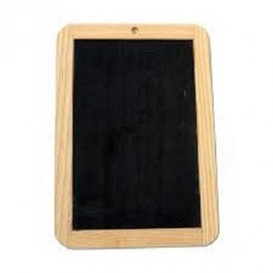 Creation Station Natural Slate with Wooden Frame for Chalk