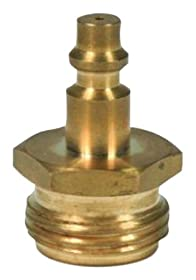 Camco 36143 Blow Out Plug with Brass Quick Connect