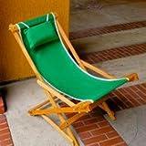 Easy Back Deck Rocker (Green)