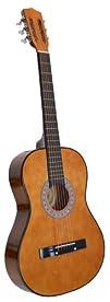 "38"" CLASSIC Acoustic Starter Guitar (7/8 Size) & DirectlyCheap(TM) Translucent Blue Medium…"