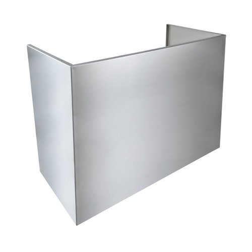 Broan Aeepd18Ss Epd61 Series 18 Inch Flue Cover For Outdoor Hood For 9 Foot Ceil, Stainless Steel front-452313