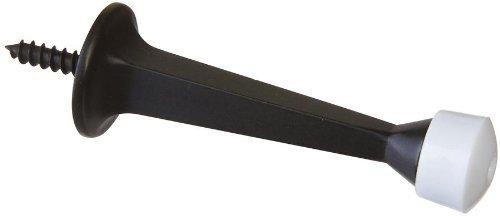 "National Hardware V8022 3"" Solid Doorstop In Oil Rubbed Bronze front-1045125"