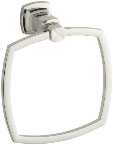 kohler-k-16254-sn-margaux-towel-ring-vibrant-polished-nickel