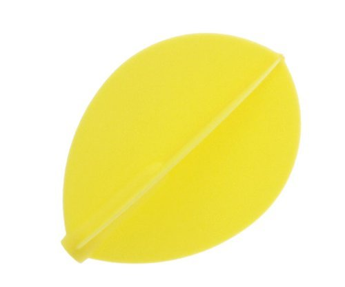 COSMO DARTS Fit Flight Teardrop Yellow (6 Pack)