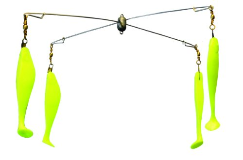 Blue Water Candy 0 15-Inch Umbrella Rig with 6-Inch Shads