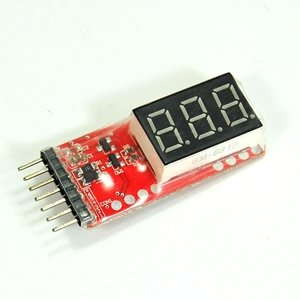 Bluecell Lipo Digital Battery Voltage Checker