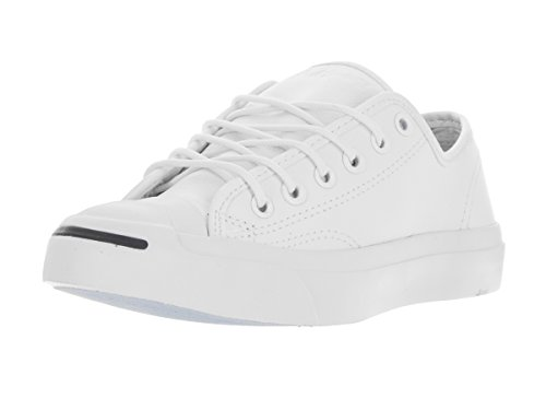 Converse Unisex Jack Purcell Jack Ox White Casual Shoe 10 Men US / 11.5 Women US (Converse Jack Purcell White compare prices)
