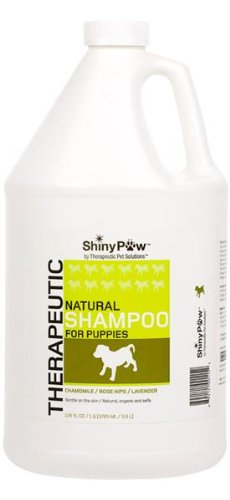 Shiny Paw® All-Natural Therapeutic Shampoo For Puppies - 128 Oz front-1011197