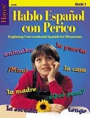 Hayes School Publishing FL01R Conversational Spanish Book 1- 40 Blackline Masters - 1