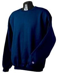 Champion Adult 50/50 Crewneck Sweatshirt, Navy - Size X-Large
