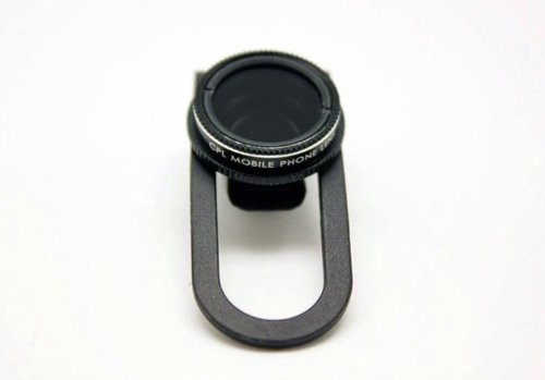 Action1St Universal Clip On Detachable Circular Polarizer(Cpl) Lens Kit For Iphone 4 4S 4G 5 5G 5S 5C Samsung Galaxy S2 I9100 S3 I9300 S4 I9500 Note1/2/3
