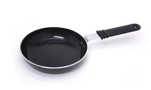 Starfrit Eco Pan 5.5-Inch Mini Egg Pan, Black