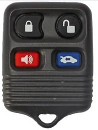 1995-2002 Lincoln Continental Keyless Entry Remote Fob Clicker With Free Do-It-Yourself Programming and Free eKeylessRemotes Guide
