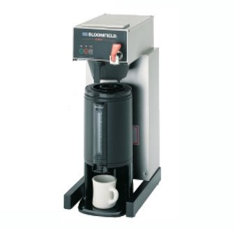 "Bloomfield 1086Tf E.B.C Electronic Thermal Brewer, Pour-Over Option, Faucet, 17"" Depth, 10"" Width, 25 1/2"" Height front-353610"