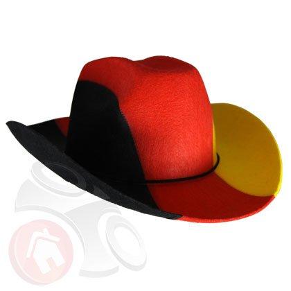 Cowboyhut Deutschland WM EM Fanartikel Hut