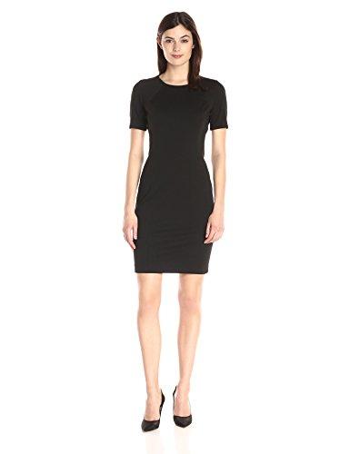 T Tahari Women's Judianne Dress, Black, 10