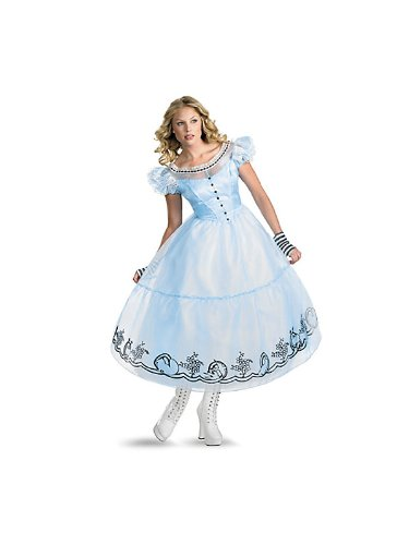 Disguise Women's Alice in Wonderland Deluxe Costume