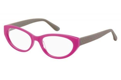 91b78b9775 Marc By Marc Jacobs Women s 529 Fuchsia   Grey Frame Plastic Eyeglasses