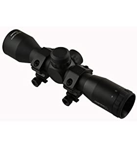 SNIPER Compact Scope 4x32 Rangefingder reticle with Rings