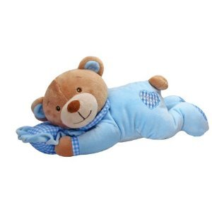 Nursery Bear with Pillow - Blue Baby Boy Gift [Baby Product]