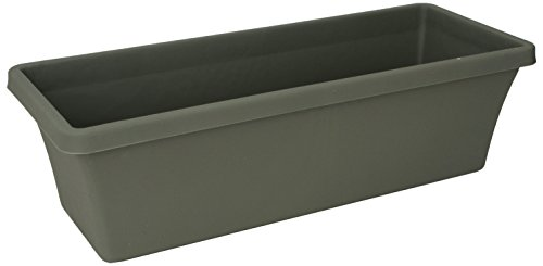 Fiskars 18 Inch TerrabBox Planter, Thyme Green (Resin Rectangular Planter compare prices)