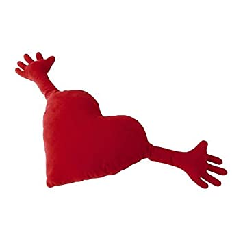 Ikea Famnig Hjarta Valentine Heart Pillow Red