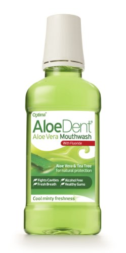 Aloe Dent Mouthwash with Fluoride 250ml (Pack of 3)