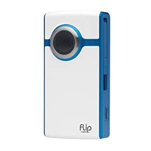 Flip UltraHD Video Camera - Blue, 4 GB, 1 Hour