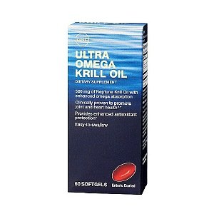 Gnc Ultra Omega Krill Oil, Softgels, 60 Ea