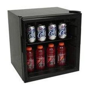 Avanti BCA193BG 1.7 Cu. Ft. Capacity Compact Refrigerator - Black
