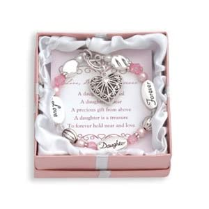 DMM Expressively Yours Bracelet - Love, Daughter, Forever