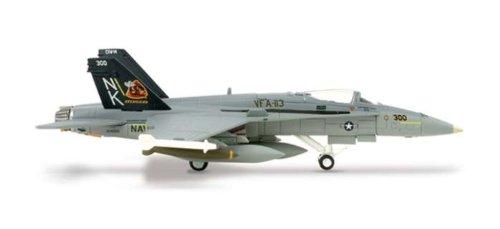 Herpa 1-200 Scale Military HE552981 Usn F-A-18C 1-200 VFA-113 Stingers CAG-BIRD