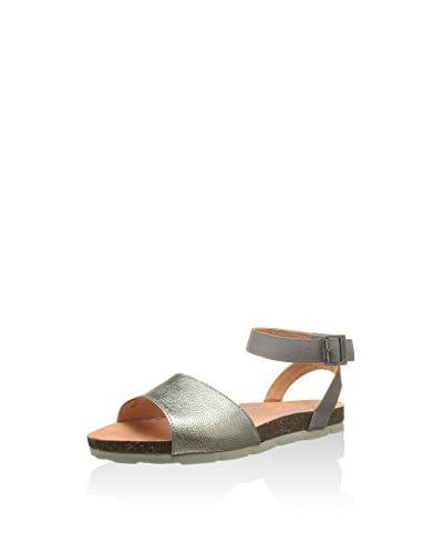 Kickers Sandalo Flat [Argento]