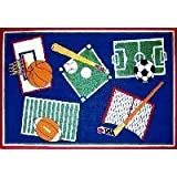 Fun Time Sports A Rama 39x58 Play Time Nylon Area Rug BBB-001 3958