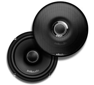 Polk Audio Dxi650 High Performance 6.5 Inch Coaxial Speakers (Pair, Black)