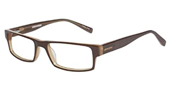 Converse Eyeglasses Newsprint Brown Optical Frame