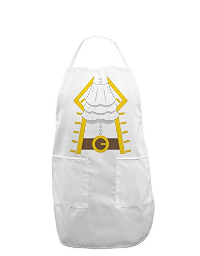 Pirate Captain Costume Gold Adult Apron