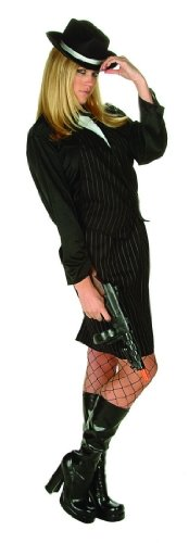 Adult Gangster Woman Costume