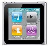 Apple iPod nano 第6世代 8GB 新品 (本体のみ・付属品なし) (シルバー)