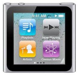 Apple iPod nano 第6世代 8GB (本体のみ・付属品なし) (シルバー)